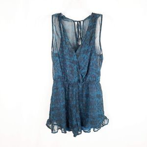 ASTR the Label sleeveless romper womens Small